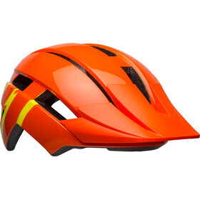 Bell Sidetrack II Helmet Youth strike gloss orange/yellow